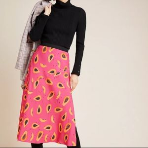 Anthropologie Corey Lynn Carter Papaya Skirt NWT